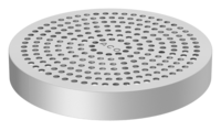 ACO perforated grating - Round