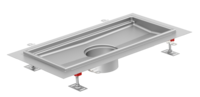 ACO hygienic box channel - extended edge