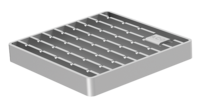 ACO hygienic ladder grating