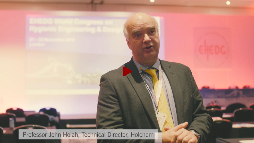 Professor John Holah on Factory design, drainage and pathogen control